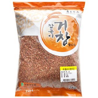 수승대농협 메홍미(현미), 2020년산, 2kg
