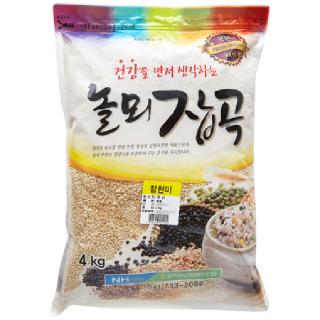 부적농협 찰현미, 2020년산, 4kg