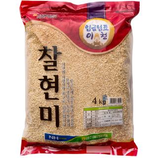 이천율면농협 찰현미, 2020년산, 4kg
