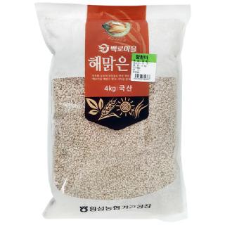횡성농협 찰현미, 2020년산, 4kg