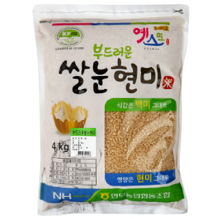 연무농협 쌀눈현미, 2020년산, 4kg