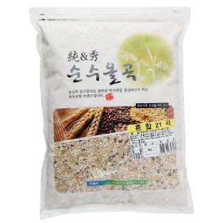 용두농협 혼합21곡, 2019년산, 4kg