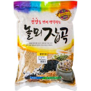 부적농협 놀뫼잡곡 쌀보리쌀, 2020년산, 4kg