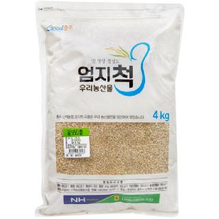 산척농협 겉보리쌀, 2020년산, 4kg