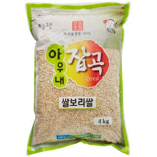 아우내농협 쌀보리쌀, 2020년산, 4kg