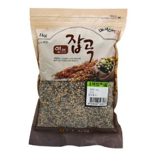 진안농협 3색보리쌀, 2020년산, 1kg