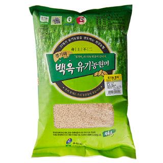 원삼농협 유기농 현미, 2020년산, 4kg