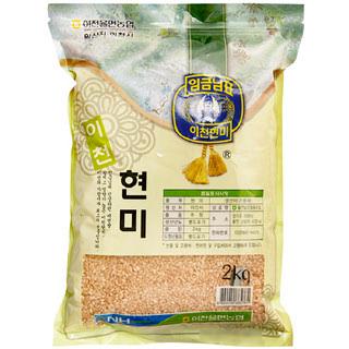 이천율면농협 현미(추청), 2020년산, 2kg