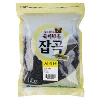 양양농협 서리태, 2019년산, 1kg
