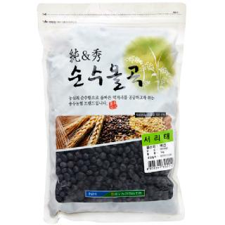 용두농협 서리태, 2019년산, 1kg