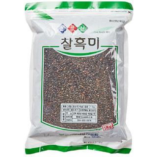 예천농협 찰흑미, 2020년산, 1kg