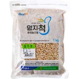 산척농협 엄지척 율무쌀, 2020년산, 1kg