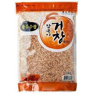 수승대농협 찰수수쌀, 2020년산, 1kg