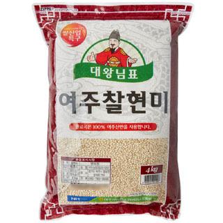 농협 대왕님표 찰현미, 2020년산, 4kg