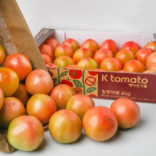 찰토마토, 4kg/박스