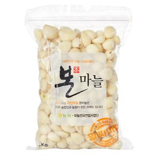 깐마늘, 1kg/봉