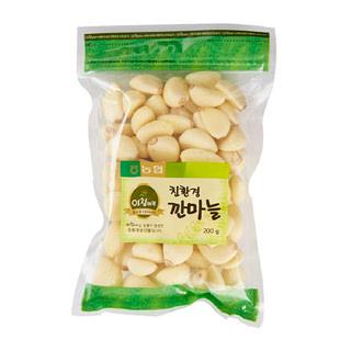 [온라인특가]친환경 깐마늘 , 200g/봉