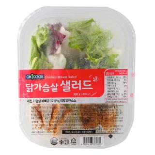 OKCOOK 닭가슴살 샐러드, 200g