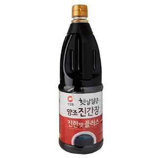 청정원 두번달여더진한 진간장골드 1.7L, 1700ml