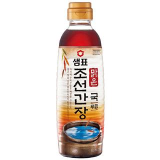 샘표 맑은 조선간장 , 500ml