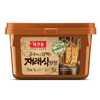 씨제이 해찬들 재래식 된장, 3kg