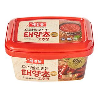 씨제이 해찬들 우리쌀 태양초골드 고추장, 1kg