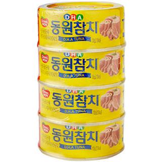 동원참치 DHA, 100g*4캔