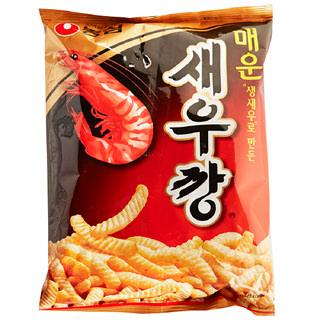 [전단상품]농심 매운 새우깡 과자, 90g