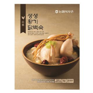 목우촌 생생 황기 닭백숙 , 1000g