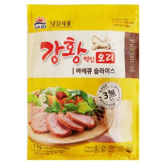 사조 해표 강황먹인 오리 바비큐 슬라이스, 1kg