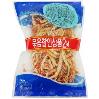 금영식품 홍진미 오징어, 150g*2봉