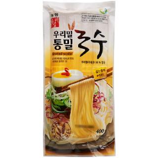 [전단상품]한국우리밀농협 통밀국수, 400g(4인분)
