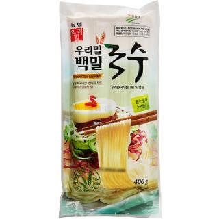 [전단상품]한국우리밀농협 백밀국수, 400g(4인분)
