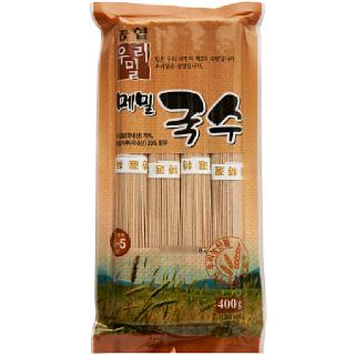 [전단상품]한국우리밀농협 메밀국수, 400g(4인분)