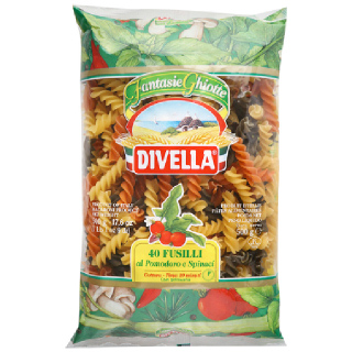 디벨라 삼색 푸질리 토마토 시금치, 500g