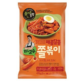 씨제이 밀당의고수 매콤달콤 쫄볶이, 470g