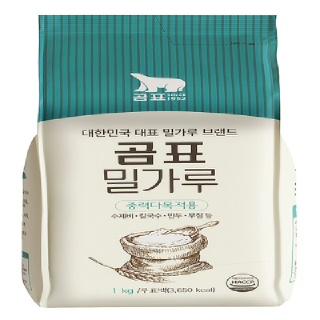 [전단상품]곰표 밀가루 중력다목적용, 1KG