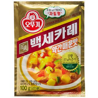 오뚜기 백세카레 약간매운맛, 100g