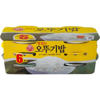 [전단상품]맛있는 오뚜기밥, 210g x 6개입