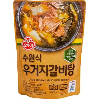 오뚜기 수원식 우거지갈비탕 500g, 500g(2인분)