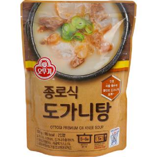 오뚜기 종로식 도가니탕 500g, 500g(2인분)