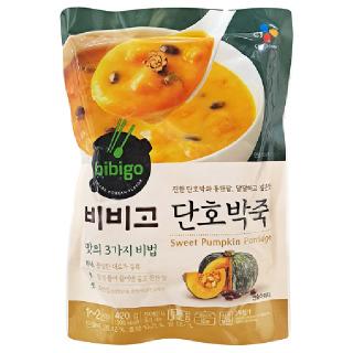 비비고 단호박죽 420g, 420g(1~2인분)