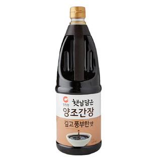 [전단상품]청정원 햇살담은 양조간장 깊고 풍부한맛, 1.7L