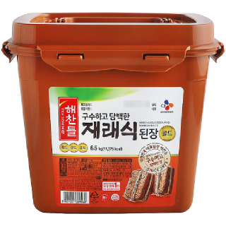 씨제이 해찬들 재래식 된장, 6.5kg