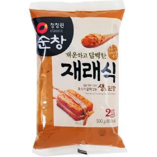 청정원 순창 재래식 생된장(봉), 500g