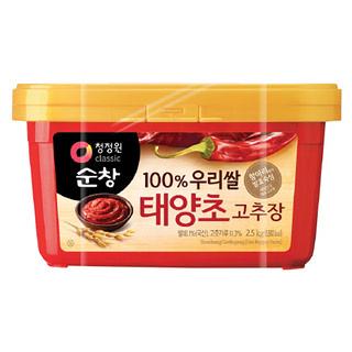 대상 청정원 순창우리쌀 태양초고추장, 2.5kg