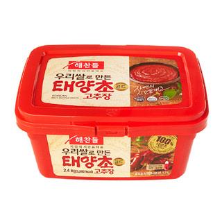씨제이 해찬들 우리쌀 태양초 골드 고추장, 2.4kg
