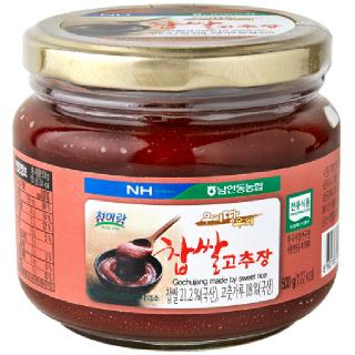 남안동농협 찹쌀고추장, 500g