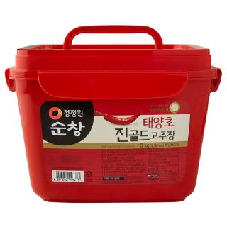 대상 청정원 순창 태양초 진골드 고추장, 5kg
