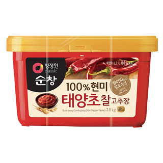 [전단상품]대상 청정원 순창 현미 태양초 찰고추장, 2.8kg